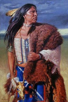 Native Americans Indians by David Yorke Native American Face Paint, Native American Warrior, Native American Paintings, Native American Pictures, Native American Beauty, Native American Artists, American Indian Art, Native American History, Indian Paintings