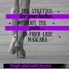 3d Fiber Lash Mascara, Creative Video, Younique, Stilettos, Lashes, Free, Spike Heels, Eyelashes, Womens High Heels