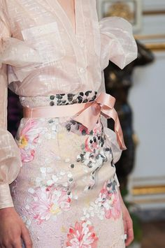 Alexis Mabille haute couture details fall 2013