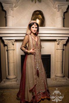 Pakistani Bride is all I can say! Asian Wedding Dress, Hijab Wedding Dresses, Asian Bridal, Bridal Outfits, Desi Bride, Pakistani Wedding Dresses, Desi Clothes, Bollywood Fashion, Asian Fashion