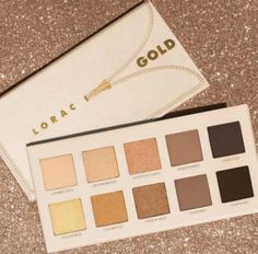 LORAC Unzipped Gold shadow palette