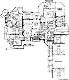 Grand Estate for the Discerning - 33525EB | 1st Floor Master Suite, Butler Walk-in Pantry, CAD Available, Den-Office-Library-Study, Exclusive, Florida, In-Law Suite, Luxury, MBR Sitting Area, Media-Game-Home Theater, Mediterranean, Multi Stairs to 2nd Floor, PDF | Architectural Designs