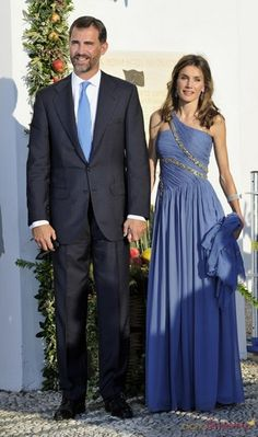Princess Letizia and Prince Felipe - Spain