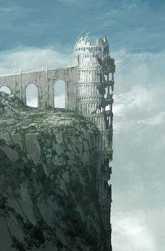 ArtStation - Dark artwork :D, Jang jae ok Fantasy City, Fantasy Castle, Fantasy Map, Fantasy Places, Fantasy Kunst, Fantasy World, Dark Fantasy, Fantasy Art Landscapes, Fantasy Landscape