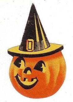 Vintage DENNISON Jack O' Lantern