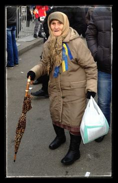 The desire for freedom and democracy has no age limt  #Euromaidan