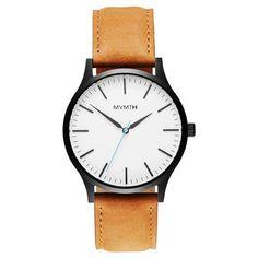 The 40 - White Black/Tan Leather
