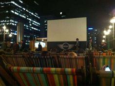 Rooftop Cinema, Melbourne, Australia.