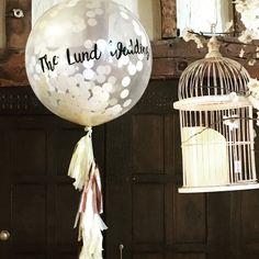 Giant Balloons, Confetti Balloons, Wedding Balloons, Bliss, Dream Wedding, Ceiling Lights, Weddings, Pendant, Home Decor