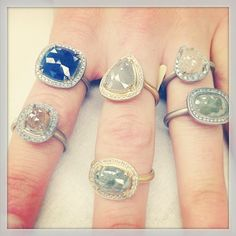 anne sportun: love the ring on the bottom far right.