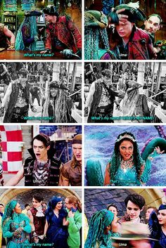 Disney Princess Memes, Disney Channel Descendants, Disney Descendants 3, Descendants Cast, Funny Disney Jokes, Disney Memes, Disney Pixar, Funny Memes, Let It Go Lyrics