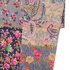 Gorgeous throw.  Also cushions to match.  Fair Trade floral patchwork throw | Oxfam GB | Shop