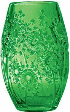 green vase...Lalique