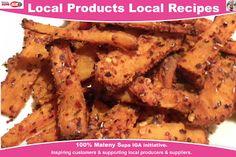 Make your own healthier version with Peri Peri Seasoning and Maleny Dairies Natural Acidophilus Yogurt. Australian Food, Recipe Creator, Sweet Potato, Fries, Healthy Lifestyle, Bacon, Pork, Tasty, Treats