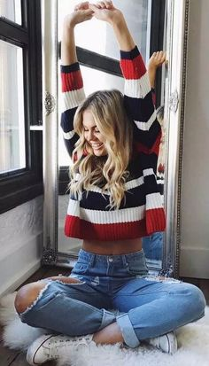 √69 Off Shoulder Outfits for You to Look Amazing #fashionideas #ouitfitsideas #offshoulderoutfitsideas | updowny.com