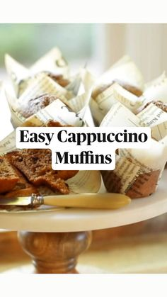 Muffin Tin Recipes, Cupcake Recipes, Baking Recipes, Dessert Recipes, Real Food Recipes, Delicious Desserts, Yummy Food, Tasty, Sweet Breakfast