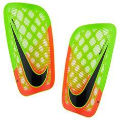 Nike Mercurial Flylite Soccer Shinguard (Green/Hyper Orange): http://www.soccerevolution.com/store/products/NIK_88141_E.php