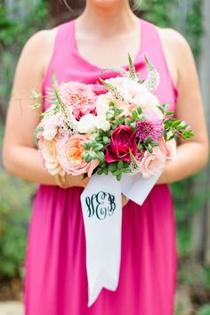 Read more sodzzling.com | Sweet pink and romantic wedding | Photography : Love, The Nelsons - soshayblog.com  #hot_pink
