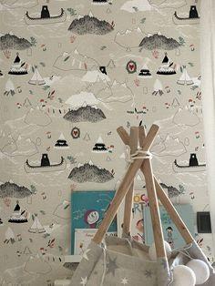 Diseño 2332/2 Picnic nro.2, es una colección dotada de diseño. Los dibujos unen la brecha entre la artesanía y la producción industrial.  #empapela #empapelados #muresco #argentina #coleccion #walcovering #wallpaper #papeltapiz #papeldeparede #papelmural
