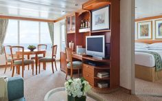 World's Best Cruise Cabins: Regent Seven Seas Cruises, Small Ocean