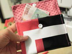 Tutoriel DIY: Coudre un porte-monnaie en toile cirée via DaWanda.com