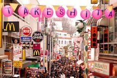 Takeshita Dori - Harajuku