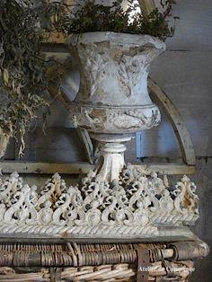 19th Century Garden Urn