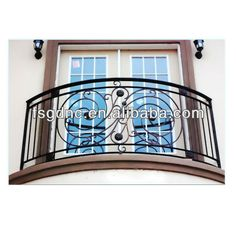 Wrought Iron Balcony Designs | High Quality Wrought Iron Balcony Railing Designs