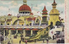 Luna Park Coney Island 1903   Recent Photos The Commons Getty Collection Galleries World Map App ... World Map App, Coney Island, Galleries, Taj Mahal, Park, Photos, Painting, Collection, Pictures