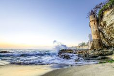 13 Picture-Perfect Spots In Southern California That Are Positively Mesmerizing This mysterious 60-foot concrete castle known as Victoria Beach Tower is a true marvel. Located in Laguna Beach, this unexpected beauty will make your jaw drop.