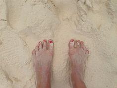 #Sand #Strand #KimMy #Ferien #Cancun #Füsse