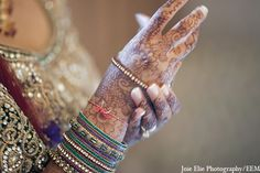 Mehndi and jewelry