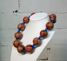 Drop - Mouth-blown glass beads. Suupuhalletuista lasihelmistä valmistettu kaulakoru. Beaded Necklace, Drop, Jewelry, Fashion, Glass, Moda, Pearl Necklace, Bijoux
