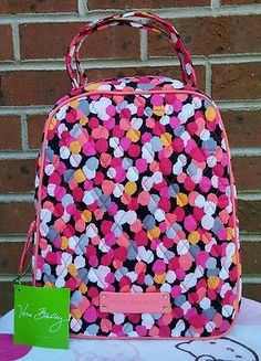 09c4689f7a52 Vera Bradley Lunch Bunch Pixie Confetti Lunch Bag NWT Lunch Bag