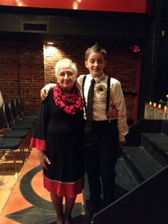 My grandson and me at my son's wedding. 10/5/13