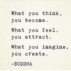 What you feel, you attract! Could not be more true. I have attracted perfection! :-)