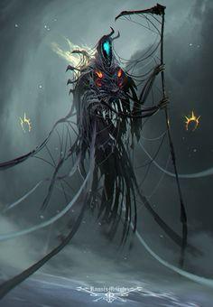 Eternal by Ramses Melendez on ArtStation. Evil Demons, Angels And Demons, Ramses, Dark Power, Humanoid Creatures, Dark Artwork, Otaku, Goth Art, Science Fiction