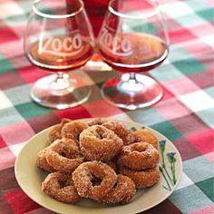 Pacharan donuts