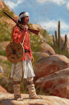 Sentinels of the Sonoran Desert – Apache | James Ayers Studios