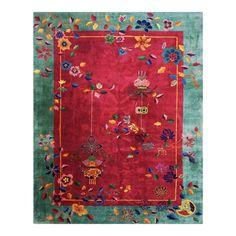 Chinese Patterns, Ethnic Patterns, Clouds Band, Asian Rugs, Chinese Art, Chinese Rugs, Art Deco Rugs, Rug Studio, Geometric Rug