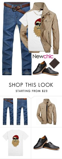 """""""newchic (12)"""" by itsybitsy62 ❤ liked on Polyvore featuring Jeep Rich, men's fashion and menswear"""