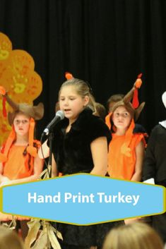 How to create hand print turkeys by making a Turkeys Go On Strike kids activity with your kids at home. Fun creative play for thanksgiving time How To Make Turkey, Turkey Handprint, Crafts For Girls, Creative Play, Craft Activities, Kids House, To Go, Fun, Poster