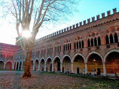 Cortile Castello Visconteo by Elias Arevalos