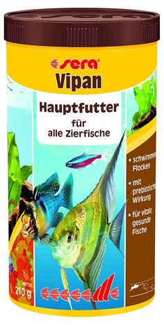 sera 170 vipan 7.4 oz 1.000 ml Pet Food, One size ** Want additional info? Click on the image. (This is an affiliate link and I receive a commission for the sales)
