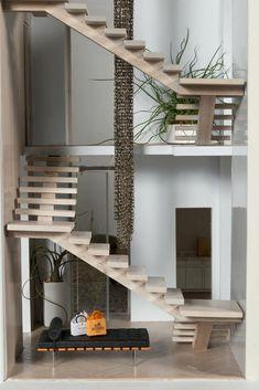 Image result for barbie dollhouse minimalist natural design