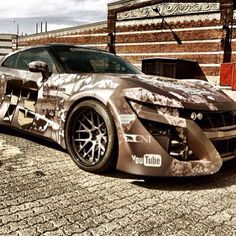 Team Galag's Awesome Gumball 3000 Nissan TG1 @teamgalag