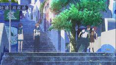 Nagi no Asukara - Background - Chisaki, Kaname, Hikaru, Manaka