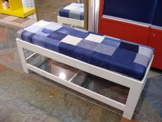 Bench seat. Could do outdoor seat cushions if weatherproof.