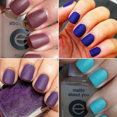 Which #essie #matte nail polish would you wear? #nailart #fashion #style #beauty