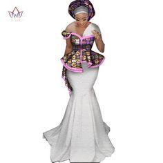 New Fashion Lace Skirt Set for Women Dashiki Elegant African Clothes Applique Plus Size Traditional African Dress Latest African Fashion Dresses, African Print Dresses, African Print Fashion, Africa Fashion, African Dress, African Clothes, African Wedding Attire, African Attire, Ankara Gown Styles